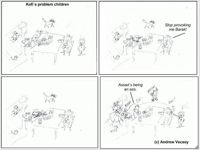 Kofi`s problem children
